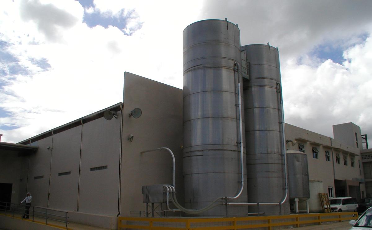 outdoor silos